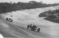 Duesenberg on Brooklands Banking hd240