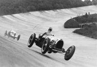 Earl Howe Bugatti at the bump