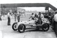 Kay Petre at Brooklands Track hp224