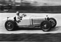 Kay Petre at Brooklands Track hp225