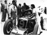 Kay Petre at Brooklands Track hp228