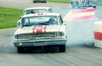Ford Galaxie in Goodwood chicane RT10