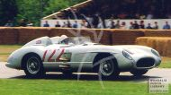 Stirling Moss in Mercedes 722 RT6A